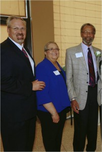 From left: Scott K. Wilderman, Rosa J. Corrrea and Curtis O. Law.